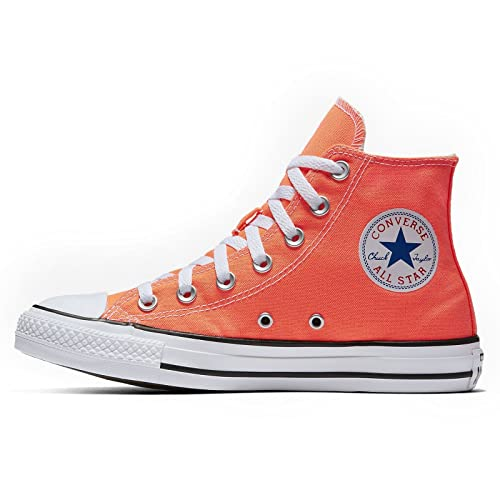 8425727ab75d16 Amazon.com  Converse Unisex Sneakers Chuck Taylor All Star Hi Top Hyper  Orange Canvas 155739F  Shoes