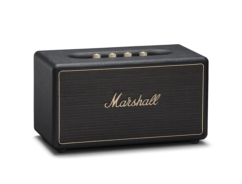 Marshall Stanmore ワイヤレスマルチルームWi-Fi Bluetoothスピーカー ブラック B07579TYYQ