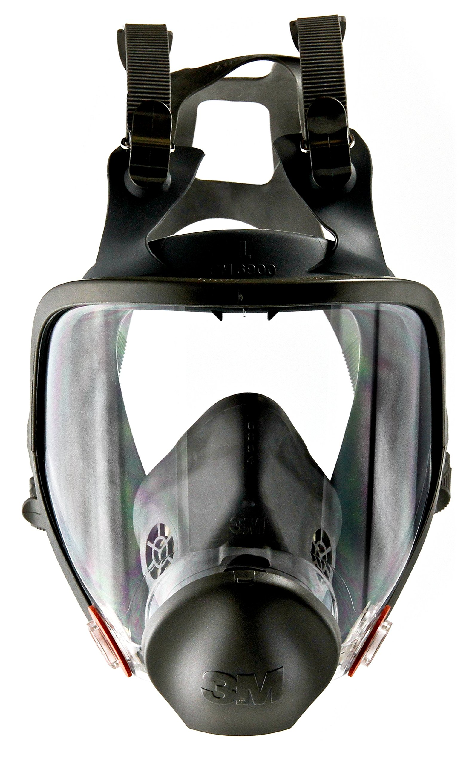 3M Full Facepiece Reusable Respirator 6900, Respiratory Protection, Large (Pack of 1)