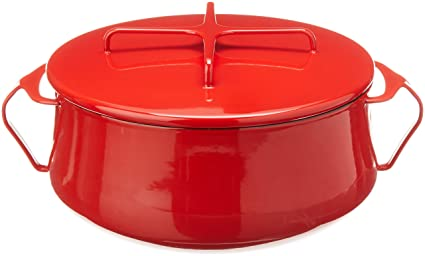 Amazoncom Dansk Kobenstyle Chili Red Casserole 6 Quart Warehouse