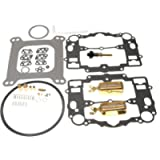 Carburetor Rebuild Kit for Edelbrock 1405 1406 1407 1408 1409 1410 1411 (With Bowl Cover Gasket)