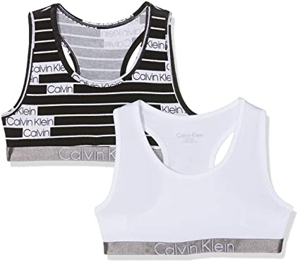 1e4e91c3217 Image Unavailable. Image not available for. Colour: Calvin Klein Girl's  Bustier ...