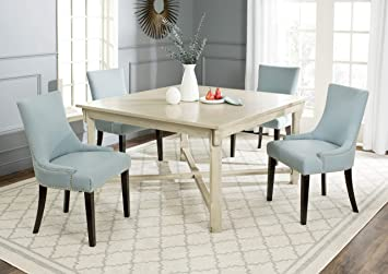 White Wash Dining Room Table | Amazon Com Safavieh American Homes Collection Bleeker White Wash