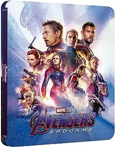Avengers Endgame 3D Blu-ray Lenticular Zavvi Steelbook Region Free