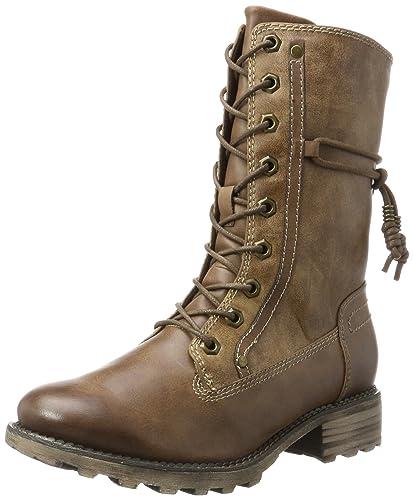 a58d12df1534f7 Tamaris Damen 26217 Combat Boots  Amazon.de  Schuhe   Handtaschen