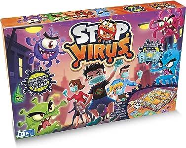 Fun Play-Juego de Mesa para Niños Stop The Virus de Play Fun-IMC Toys 82779: Amazon.es: Juguetes y juegos
