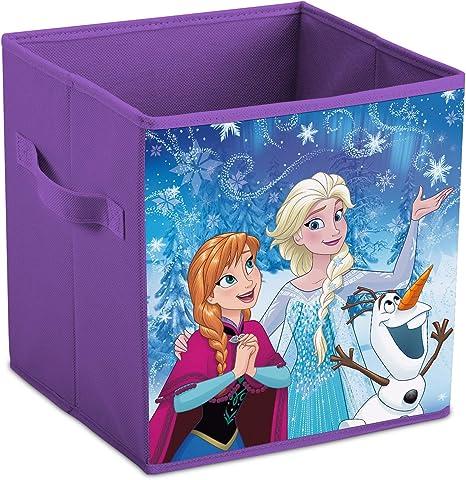 Frozen - Caja Plegable para Guardar Juguetes, diseño de Frozen ...