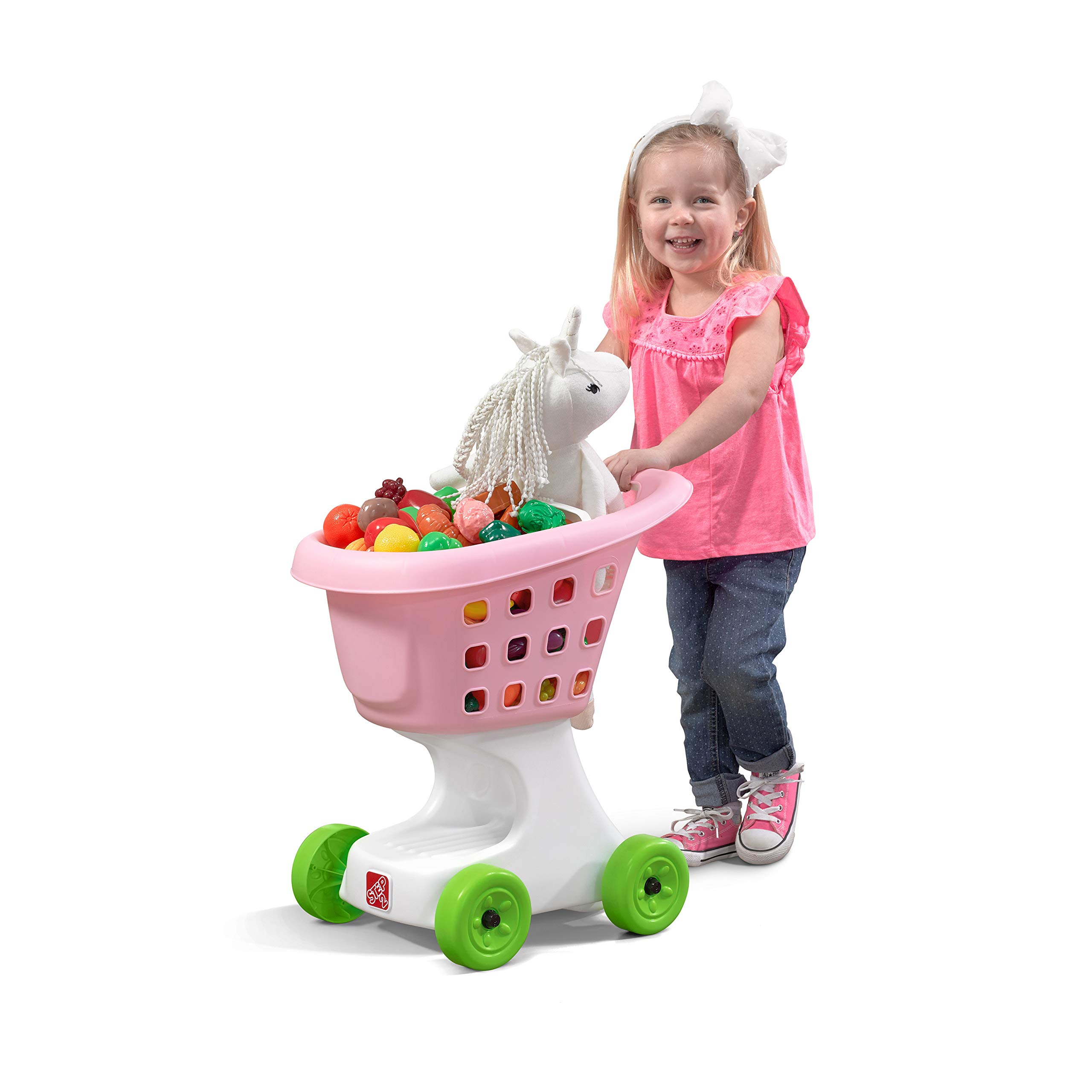 Step2  Little Helper's Shopping Cart-Pink by Step2 (Image #6)