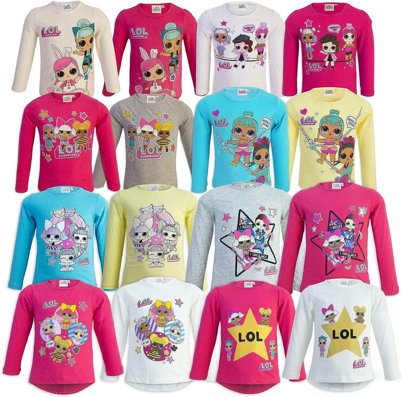 L.O.L. Surprise! - Camiseta Mangas Largas - para niña - RH677X: Amazon.es: Ropa y accesorios