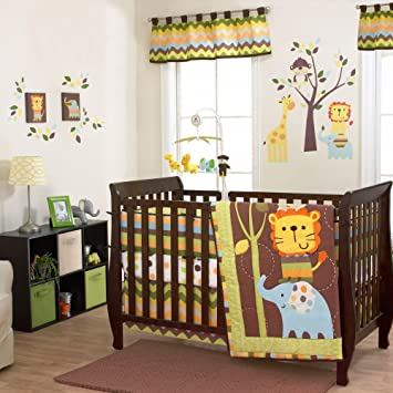 Amazon.com: Belle Zuzu & Friends 3 piezas para cuna de bebé ...
