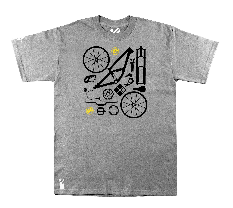 Setup® DHSetup T-Shirt in SportGrau