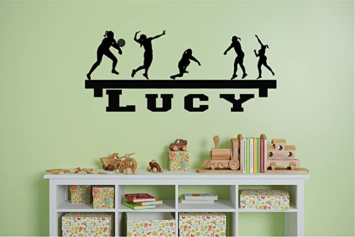Amazon.com: Personalized Name Volley Girls Shelf looking customized ...