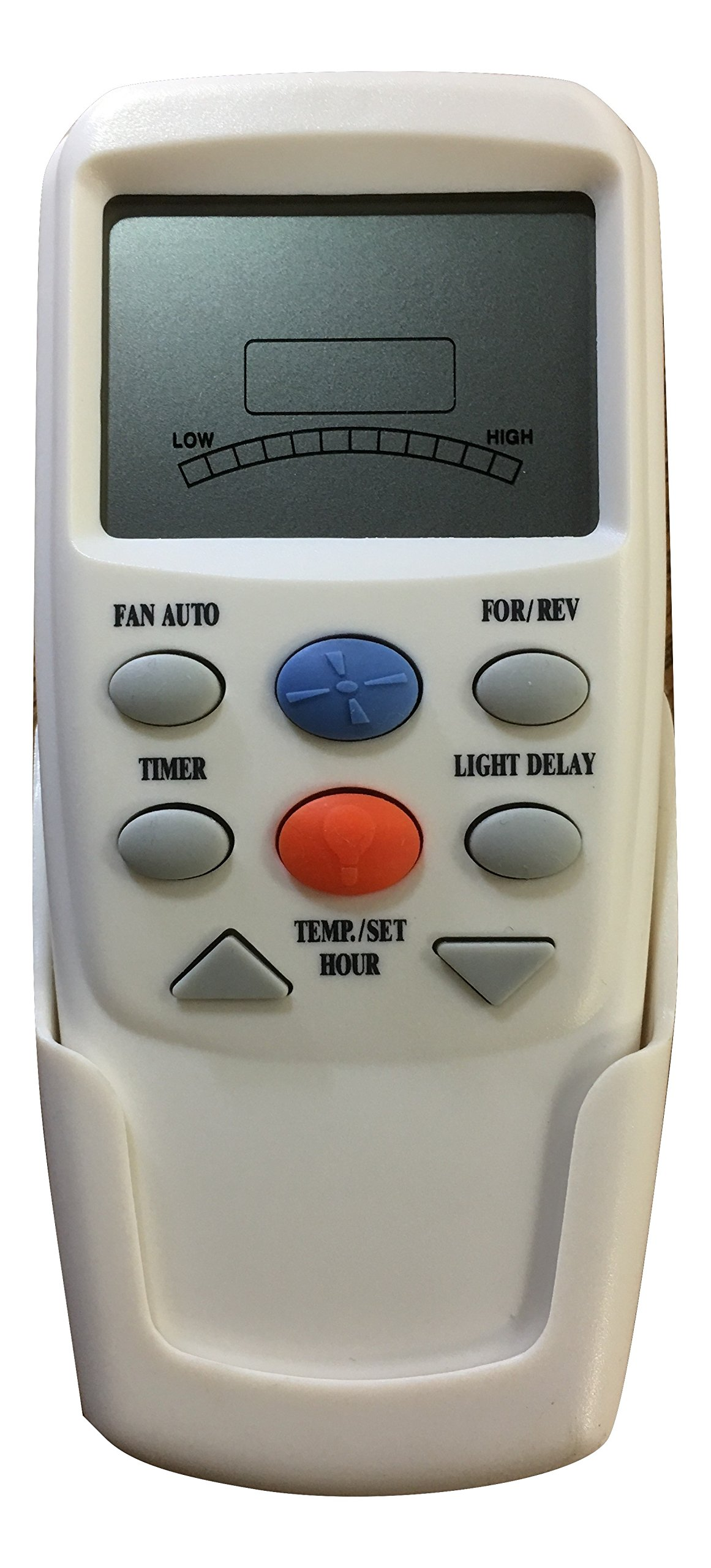 Hampton Bay Replacement Remote for Transmitter Model CHQ7096T with Up/Down Light and Reverse Function