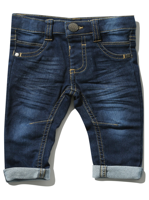 M& Co Baby Boy Cotton Stretch Blend Mid Wash Denim Slim Leg Jeans