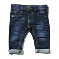 M&Co Baby Boy Cotton Stretch Blend Mid Wash Denim Slim Leg Jeans