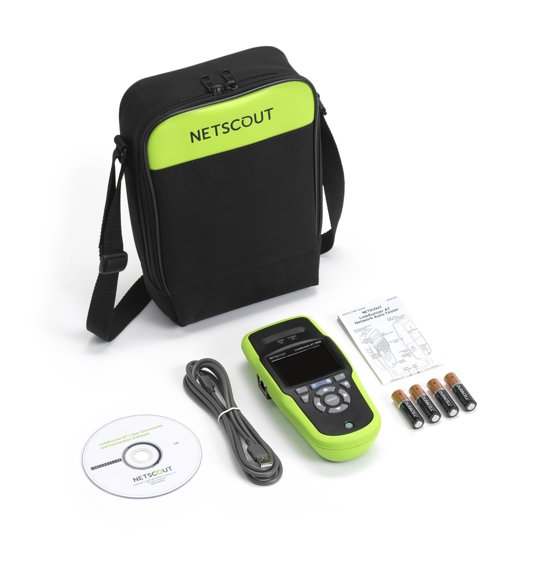 NETSCOUT LRAT-1000 LinkRunner AT Copper Ethernet Network Tester by NETSCOUT
