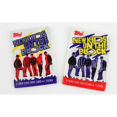 Two Packs of New Kids on the Block Trading Cards NKOTB 1989: Everything Else