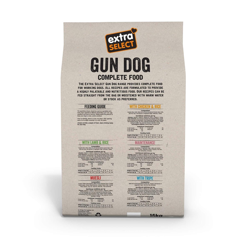 Extra Select - Oro con Pollo y arroz (15 kg): Amazon.es: Productos ...
