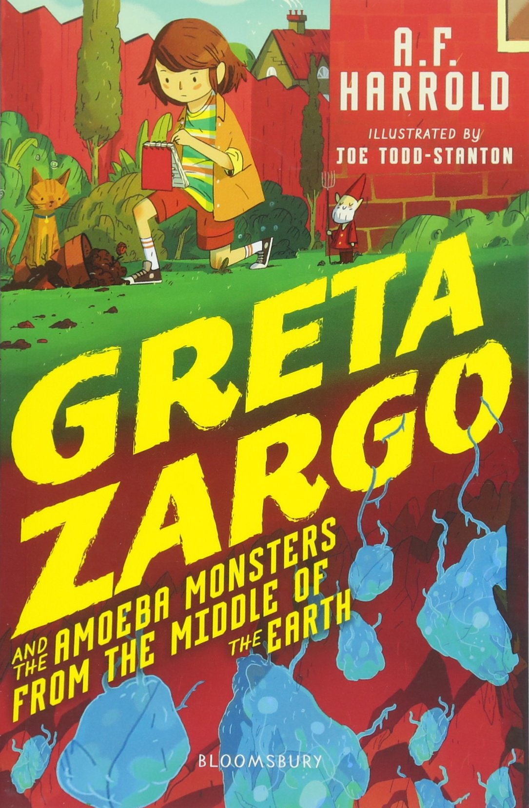 Download Greta Zargo and the Amoeba Monsters from the Middle of the Earth ebook