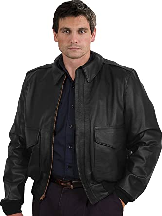 cababbaa2 A2 Military Specs Bomber Cowhide Leather Jacket Made in the USA at ...