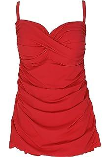 712d2f1ba4362 Profile by Gottex Women s Plus-Size Classic Bandeau Swimdress One ...