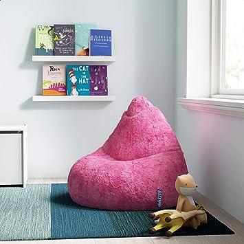 Amazon Com Standard Bean Bag Chair Lounger Furniture Decor