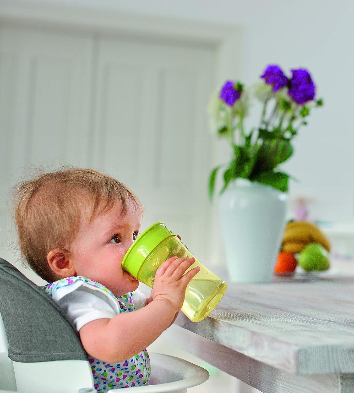 Nuk - Taza Antideslizante para Niños de más de 8 meses, 230 ml, surtido: modelos/colores aleatorios
