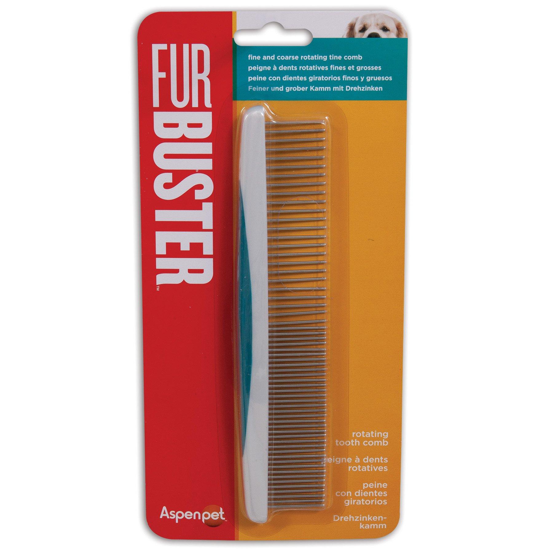 Petmate Furbuster Rotating Tooth Comb, Vibrant Plum by Petmate (Image #2)