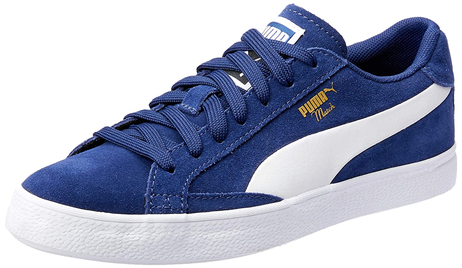 d1299cefff70b4 Puma Unisex Match Vulc 2 Blue Sneakers - 11 UK India (46 EU)(36314407)  Buy  Online at Low Prices in India - Amazon.in