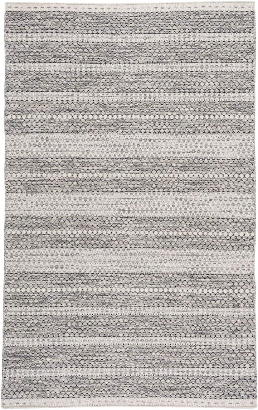 Amazon Com Oxfordshire Gravel 8 X 10 Rectangle Hand Woven Area Rug Furniture Decor