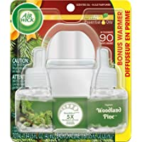 Air Wick Woodland Pine Scented Oil Starter Kit (1 Warmer)