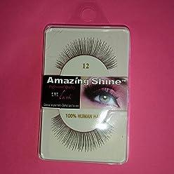f7ee9ec56d0 Amazing Shine Human Hair False Eyelashes - 12