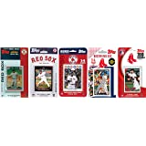 MLB Boston Red Sox 5 Different Licensed Trading Card Team Sets