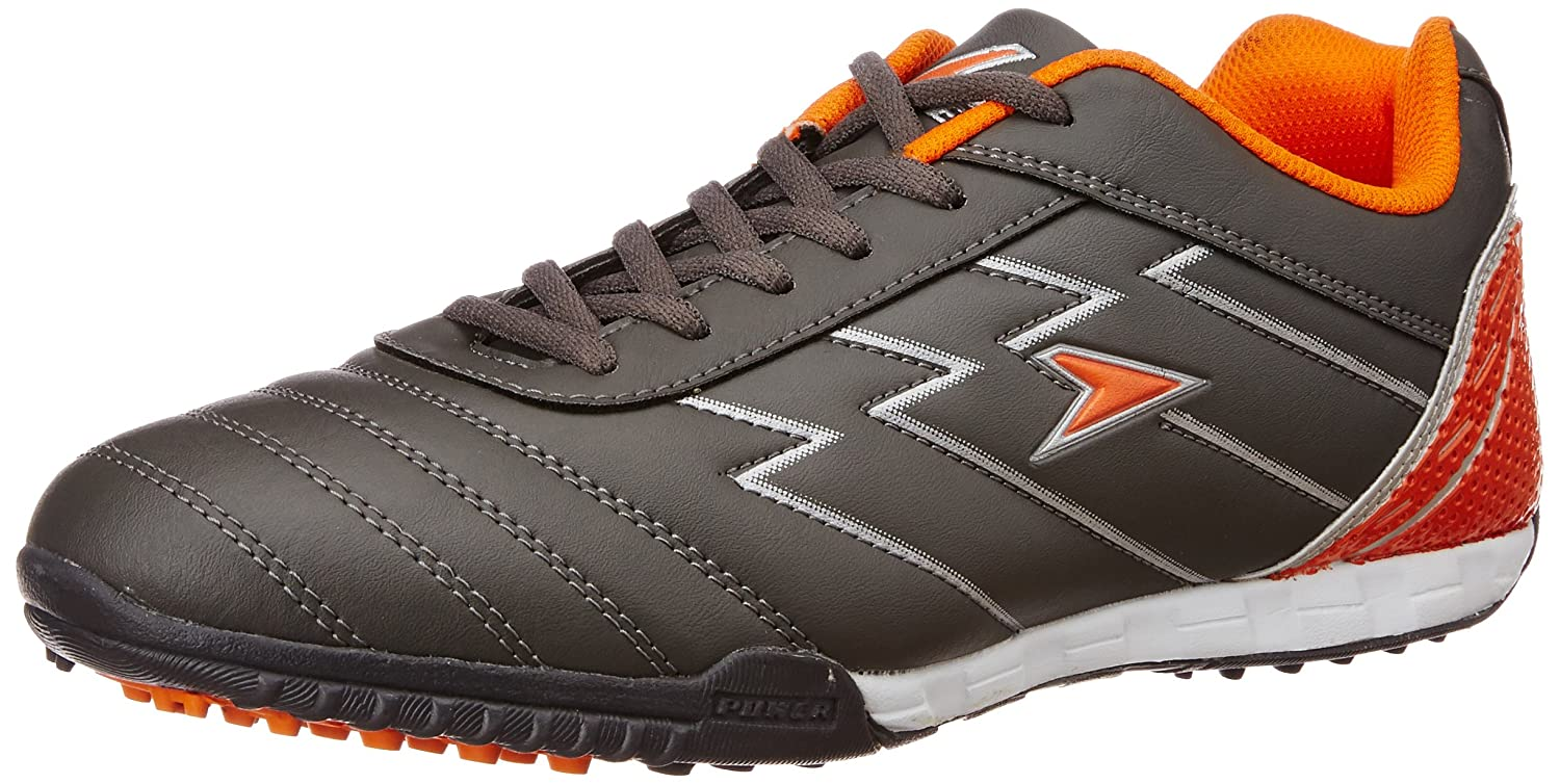 Turf in B 113 Grey Canvas Running Shoes