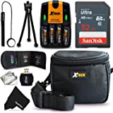32GB Memory Card Accessories Kit / Bundle for Nikon Coolpix B500, B700, L340, L840, L330, L320, L830, L820, L120, L310, L810, L820, L620 Digital Cameras (32GB Coolpix Accessories Kit)
