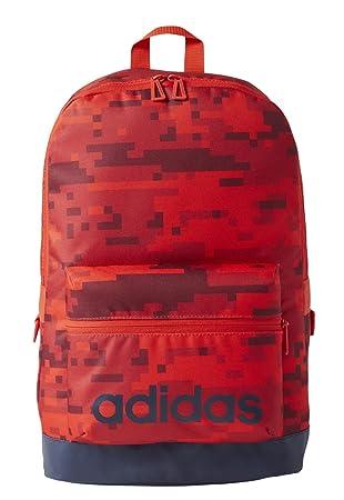 adidas BP AOP Daily Mochila, Hombre, Rojo, S: Amazon.es: Deportes y aire libre