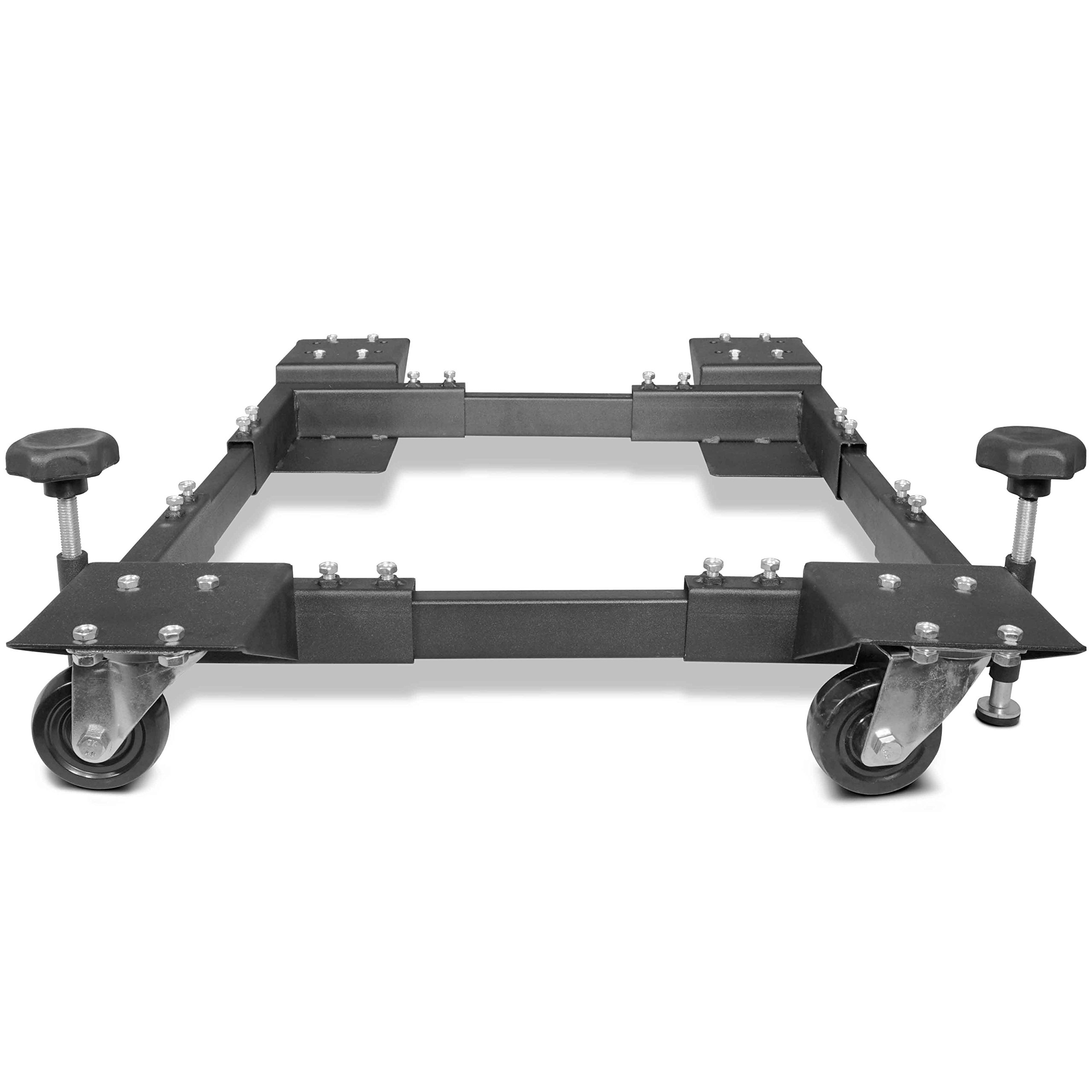 Titan Adjustable Mobile Base Dolly 600 lb Capacity HD Universal Power Tools - Make Your Workshop Portable & Easy To Use by Titan Attachments (Image #5)