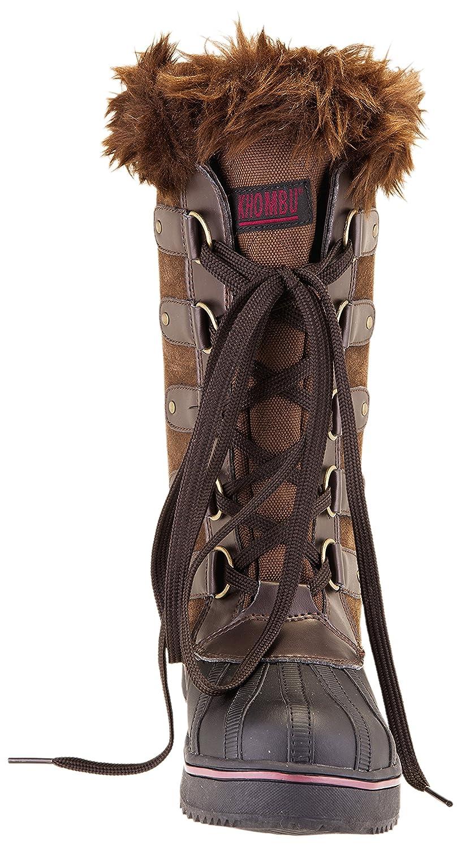 814267c4e36c4 Amazon.com | Khombu Women's Jeanie Waterproof Tall Winter Snow Boot (6 B(M)  US, Brown) | Snow Boots
