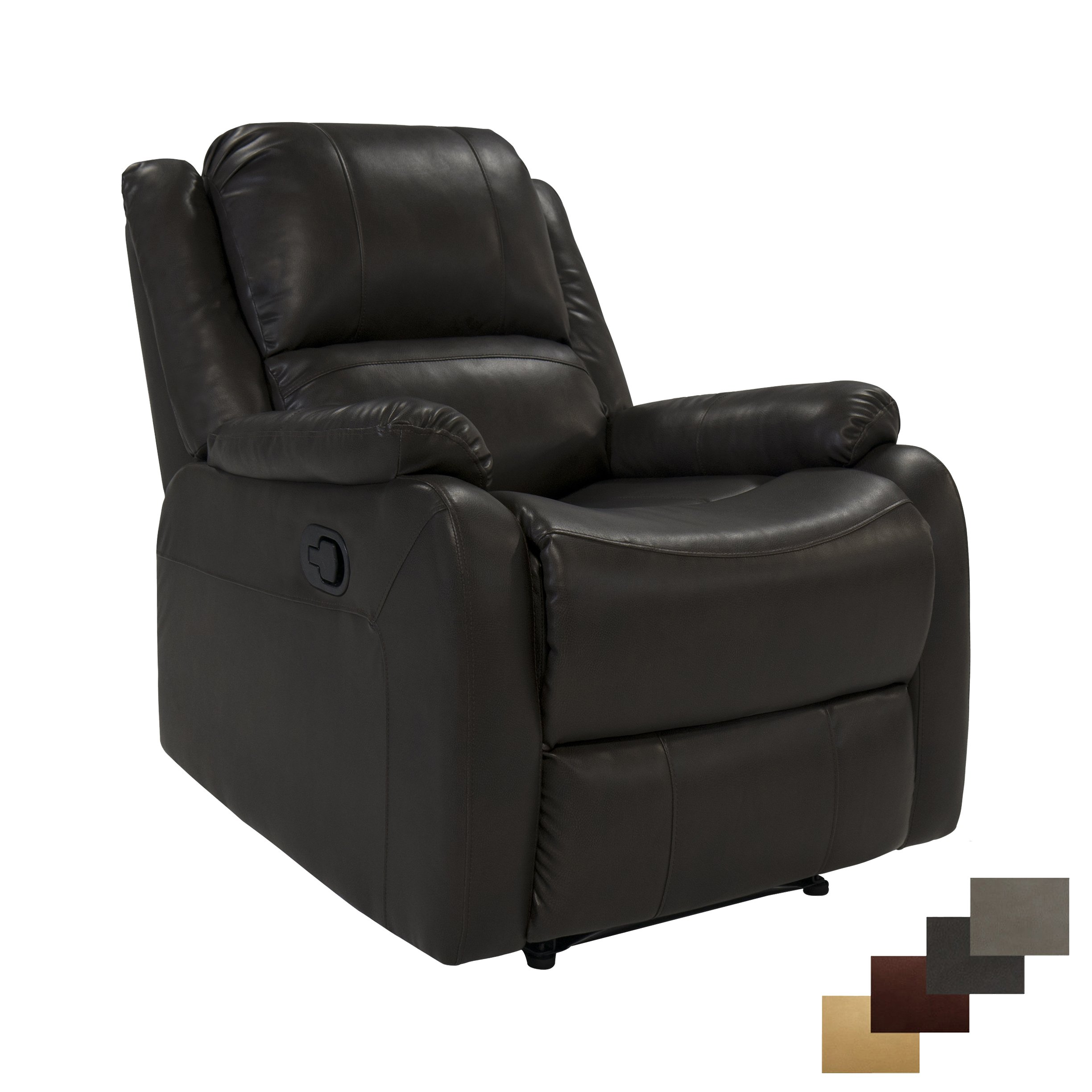 Charles Ashton Home Collection | 30'' Handicap Power Lift Chair | Power Lift Recliner | Classic Design | Space Saving Design for Apartment | Perfect for Tiny Home or Dorm Room | (Chestnut)