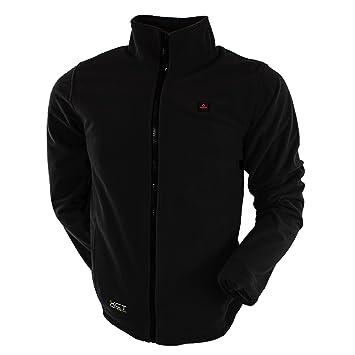 Mens Black Fleece Jacket Fit Jacket