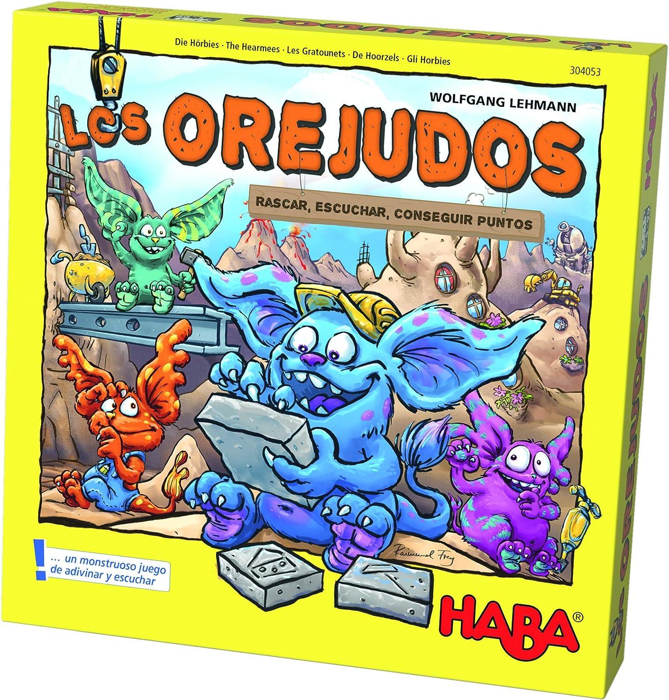 Haba-Los Orejudos, Multicolor (Habermass 304053): Amazon.es ...