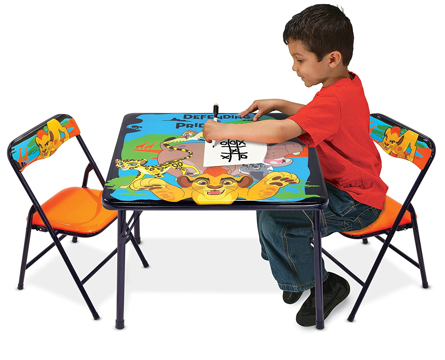 Amazon.com: Disney Lion Guard Activity Table Set: Toys & Games