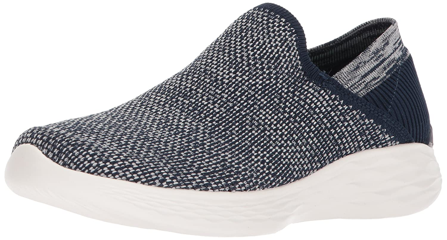 Skechers Women's You-14958 Sneaker B072K7N1B1 12 B(M) US|Navy/White