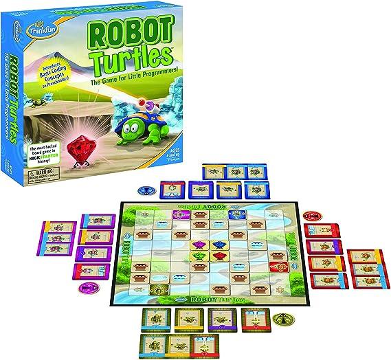 Think Fun - Robot Turtles, Juego de Mesa (TF1900) (Puede no Llegar ...