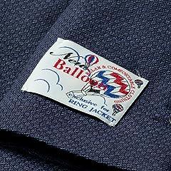 New Balloon Pattern Weave Wool Jacket BYJ-05: Navy