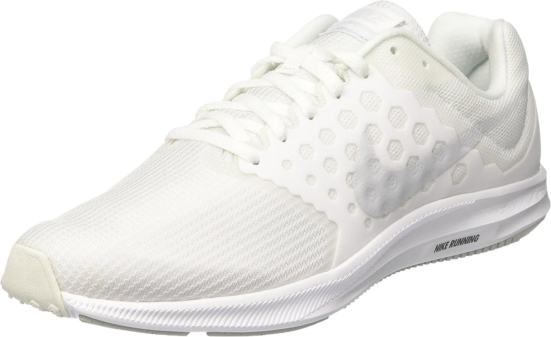 Nike Downshifter 7, Zapatillas de Running Hombre, Blanco (White ...