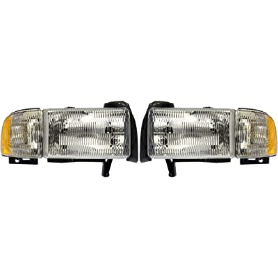 Dorman 1590121 Headlight Assembly For Select Dodge Models: Automotive