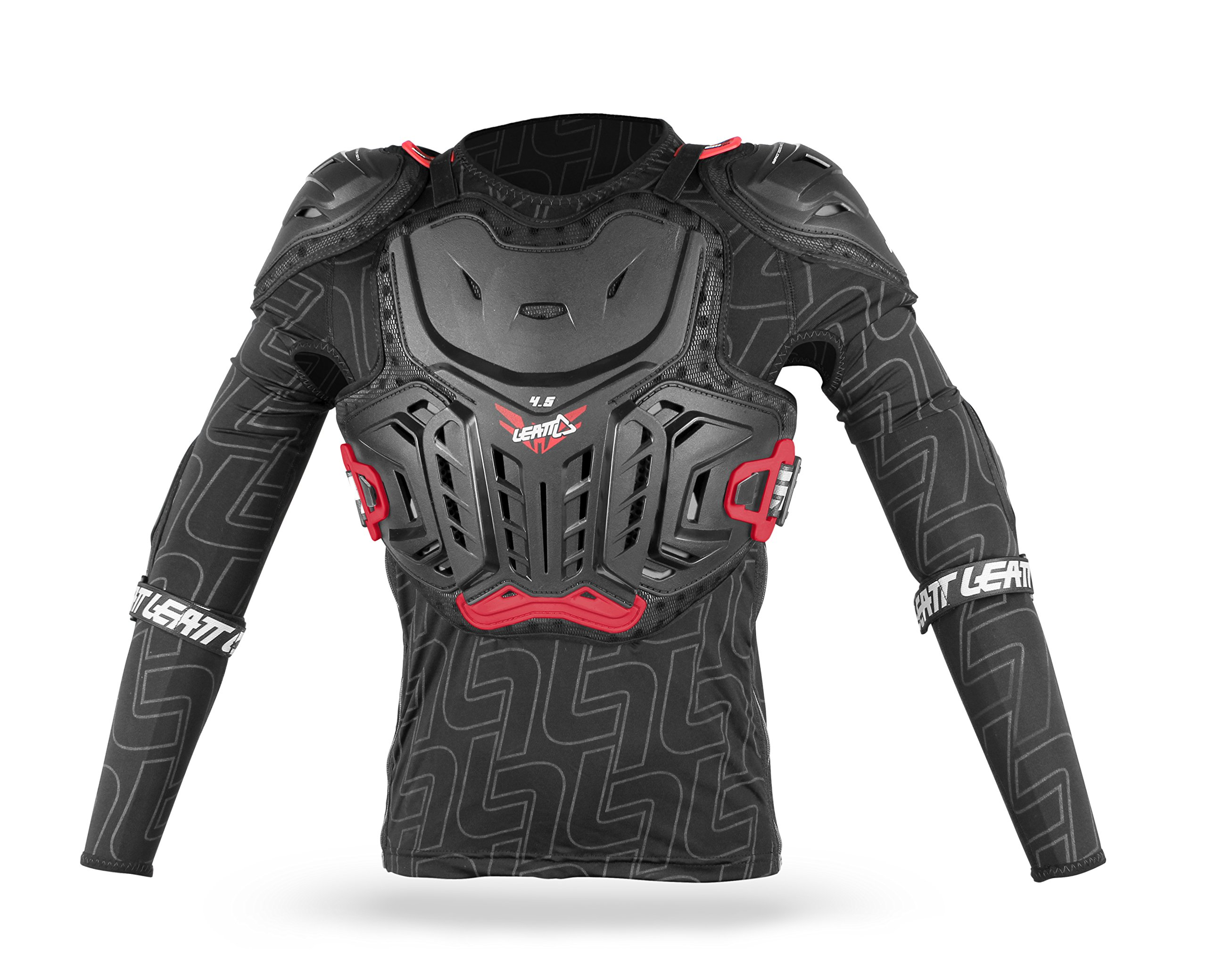 Leatt 4.5 Junior Body Protector (Black, Large-X-Large/Size 147-159cm)