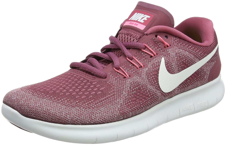 Nike Wmns Free RN 2017, Zapatillas de Entrenamiento para Mujer 36.5 EU|Rosa (Vintage Wine/Off White/Element 604)