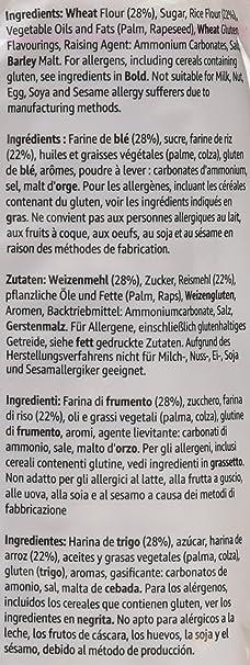 Marca Amazon- Solimo Aros de galleta - 500g x 3: Amazon.es: Alimentación y bebidas